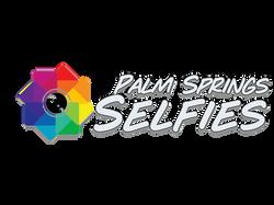 palm springs selfies logo