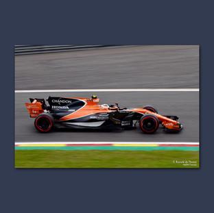 Stoffel Vandoorne - Belgian Grand Prix 2017