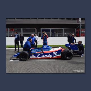 Grille de départ ancienne F1