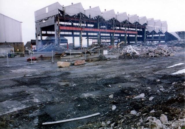 Kingston 2005 Fabrication shed demolition