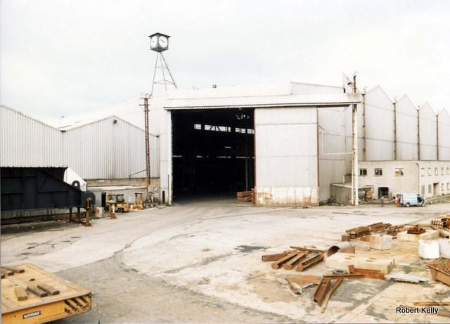 Kingston 1990 fabrication shop