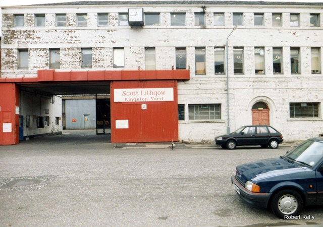 Kingston Main Gates 1989