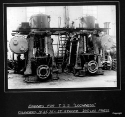 Engines for TS Lochness Kincaids