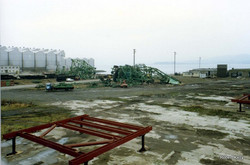 Kingston 1992 Slipway cranes removal a