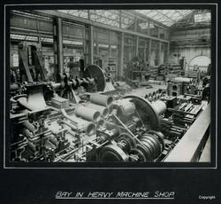 Bay in Heavy Machine Shop a