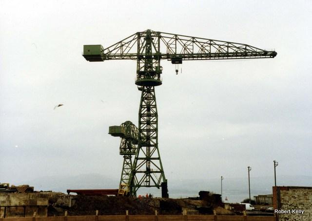 Kingston 1992 Slipway cranes a