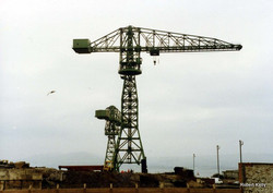 Kingston 1992 Slipway cranes a