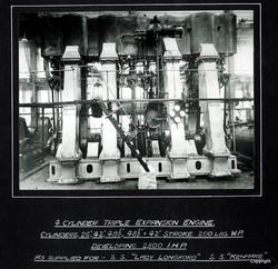 4 Cylinder Triple Expansion Engine SS Kenmare