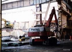 Kincaids East Hamilton St demolition 1994 interior