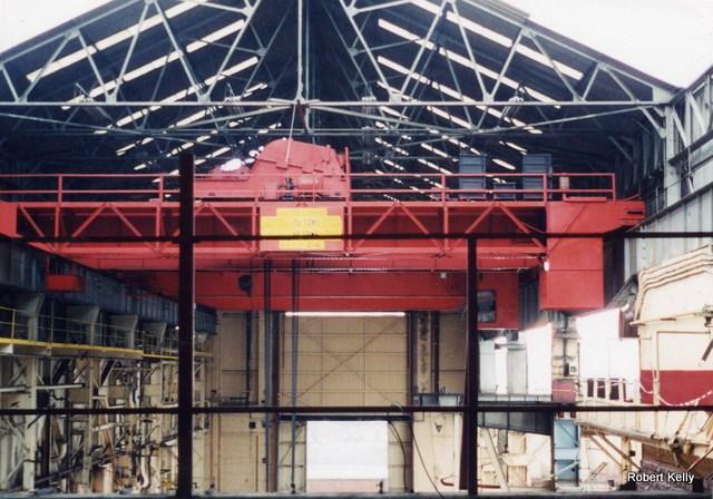 Kincaids East Hamilton St 1992 overhead crane