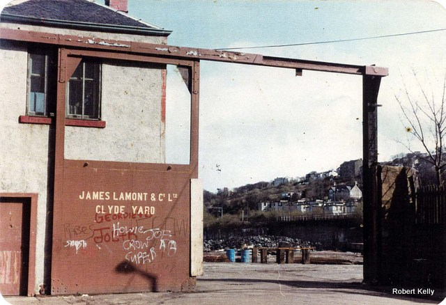Lamonts Clyde Yard gates