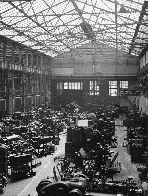 Light machine shop in 1948
