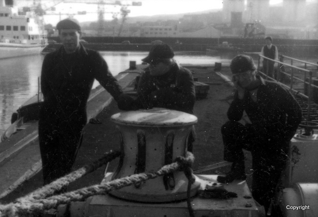 Garvel Dry Dock Workers