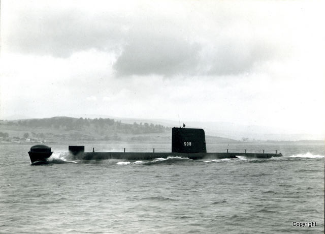HMS Walrus Launch 1959 9