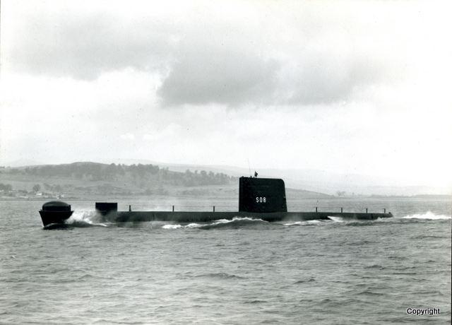 HMS Walrus Launch 1959 9
