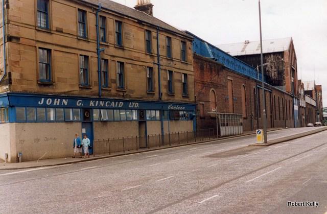 Kincaids East Hamilton St Canteen 1993