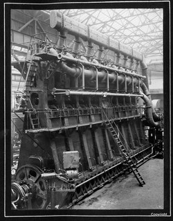 8 Cylinder Single Acting Diesel Engines MV Macdhui a