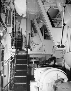 K342 Sea Trials Alongside rear of engine