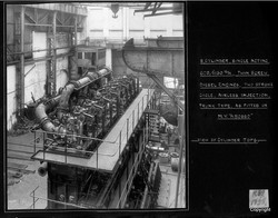 8 Cylinder SIngle acting twin screw deiesel engine as fitted to MV Abosso