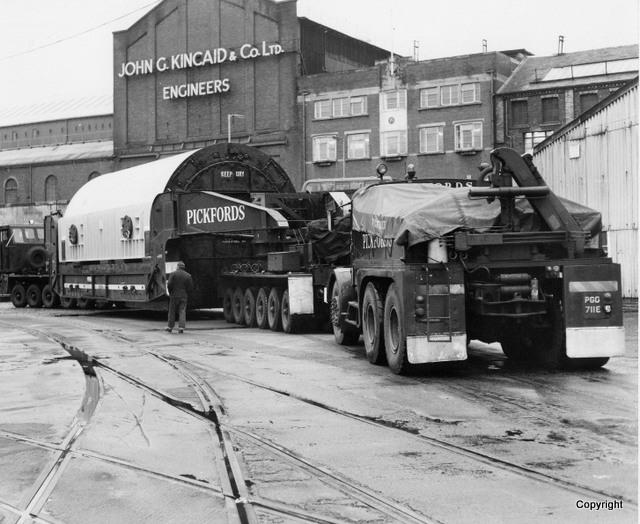 Transport in James Watt Dock