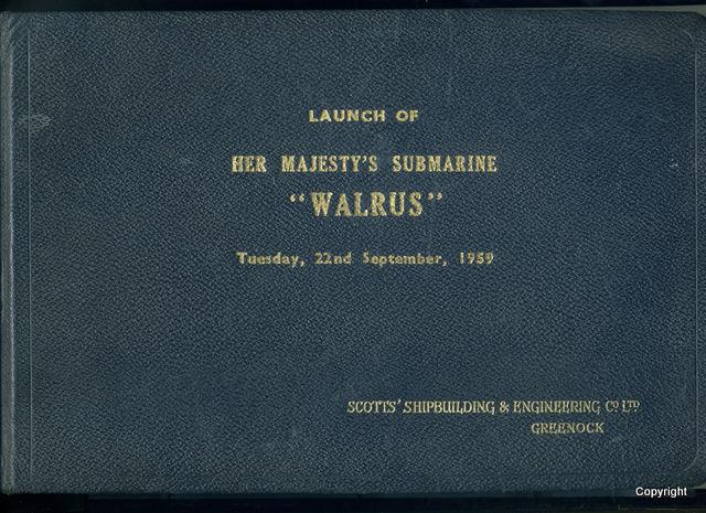 HMS Walrus Launch 1959 8