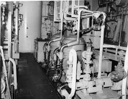 K342 Sea Trials Adjacent control station