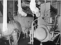 K342 Sea Trials Diesel Generators
