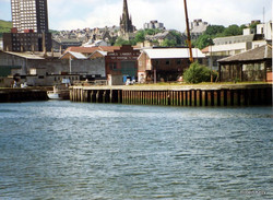 Lamonts entrance to dock 1989