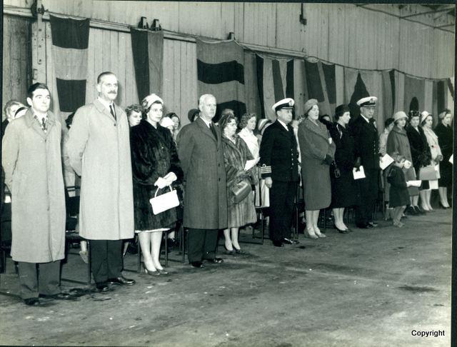 HMS Walrus Launch 1959 12