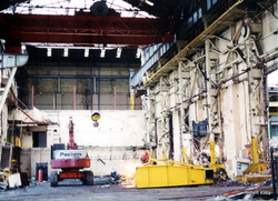 Kincaids East Hamilton St demolition 1994