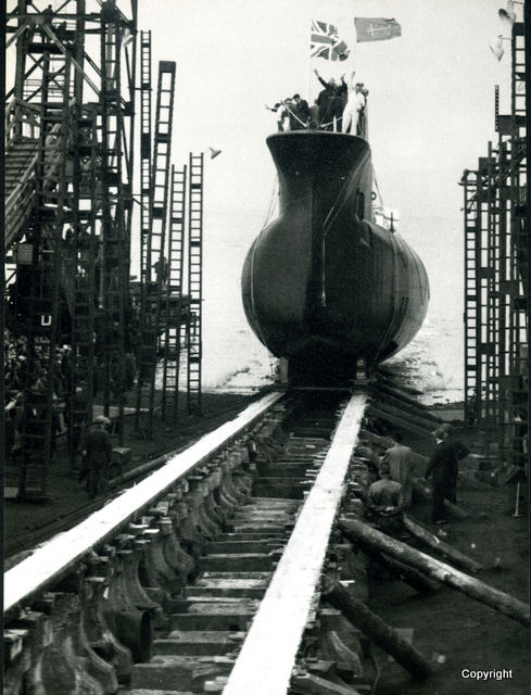 HMS Walrus Launch 1959 15