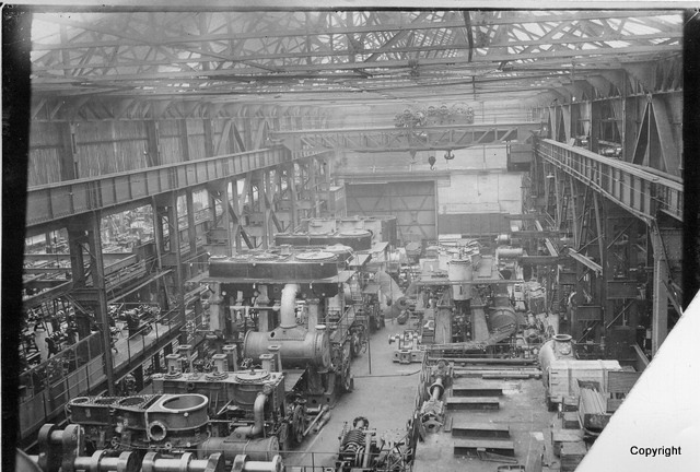 jgk East Hamilton St. E shop 3 Steam engines