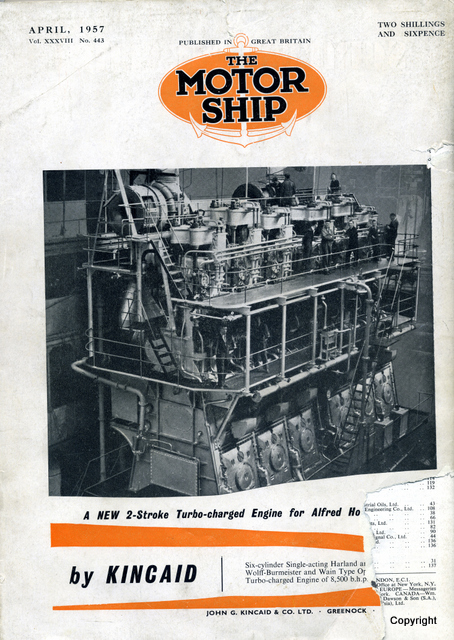 Kincaids advert 1957 John Davies