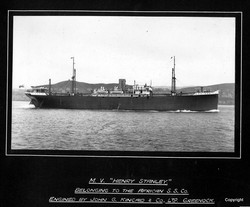 MV Henry Stanley engined by Kincaids