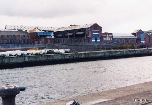 Kincaids East Hamilton St from James Watt Dock 1993