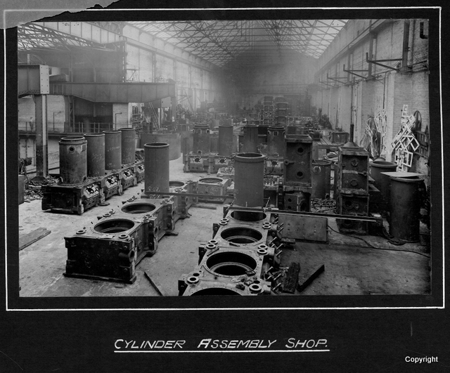 Cylinder Assembly Shop