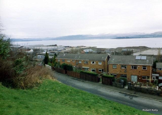 Kingston looking west after demolition