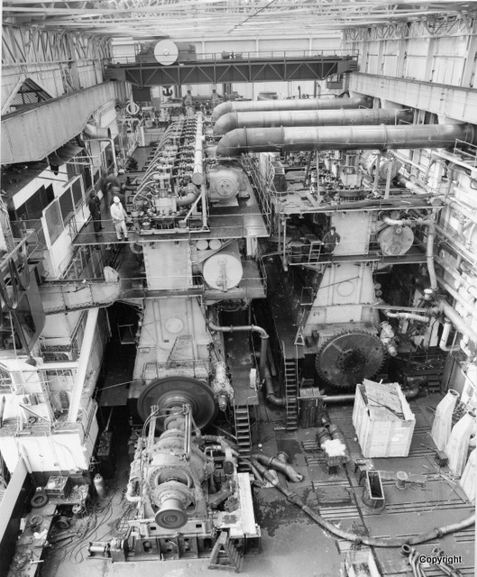 K427 I Shop Engine Running
