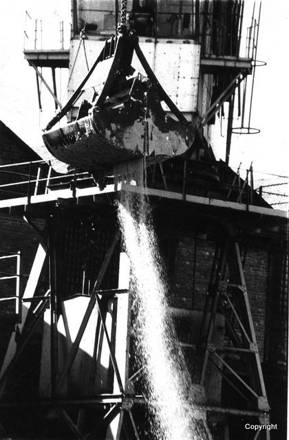 Sugar unloading at JWD