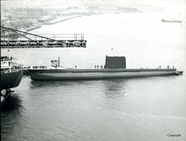 HMS Walrus Launch 1959 14