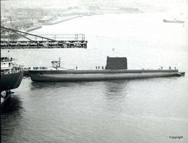 HMS Walrus Launch 1959 14