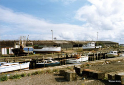 Small boats in dock 1989