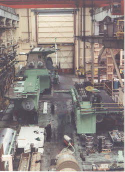 K513-C ready for cylinder lift