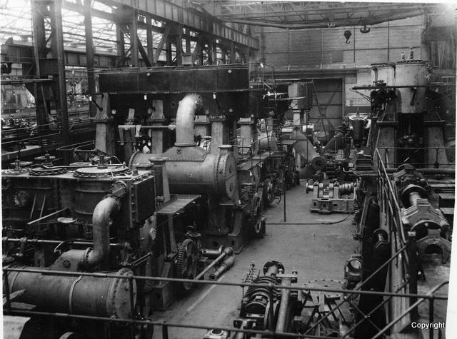 jgk East Hamilton St. E Shop 2 Steam engine construction 1927