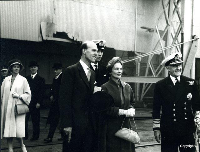 HMS Walrus Launch 1959 3