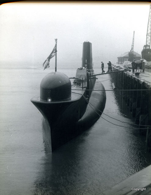 HMS Walrus Launch 1959 10