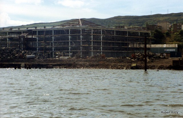 Crusader building March 1992
