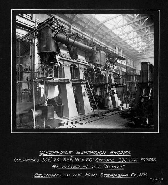 Quadruple Expansion Engines SS Somali