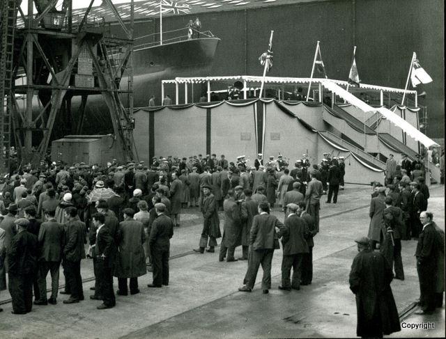 HMS Walrus Launch 1959 6