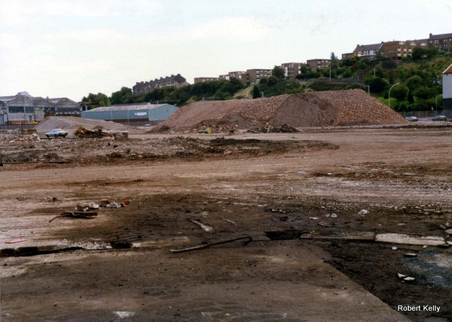 Scotts Cartsburn 1988 completed demolition